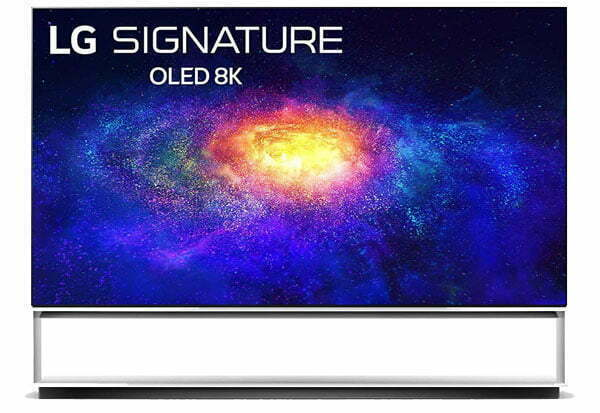 LG signature OLED TV 8K 224 cm (88 inches) Ultra HD Smart TV 88ZXPTA (Signature Black) (2020 Model)